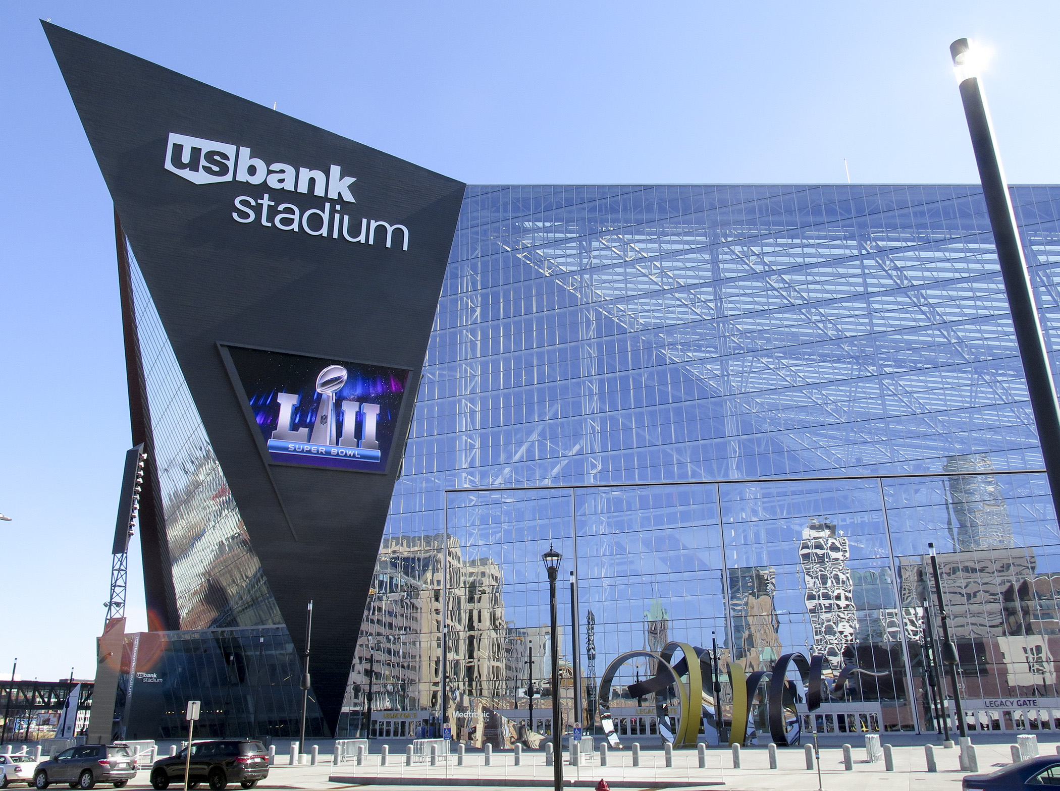 Session Daily Story Minnesota House Of Representatives - Us bank stadium gate map