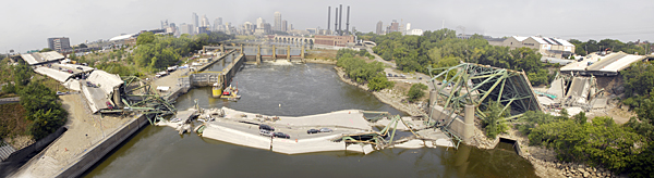 The collapse of the Minneapolis Interstate 35W bridge brought attention to the state