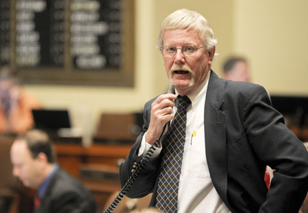 Rep. Bud Heidgerken. (Photo by Andrew VonBank)