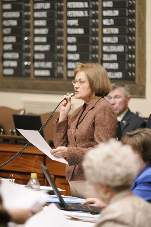 Rep. Connie Ruth. (Photo by Tom Olmscheid)