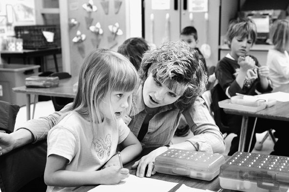 Education funding remains a top priority. (Photo by Tom Olmscheid)