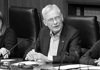 Rep. Thomas Huntley chairs the House Health Care and Human Services Finance Division. (Photo by Andrew VonBank)