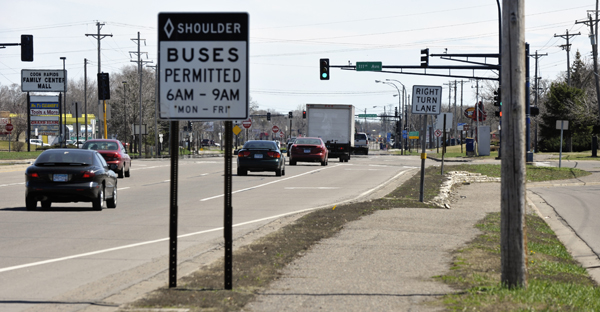 Sponsored by Rep. Denise Dittrich, HF3007 would allow the City of Coon Rapids to use tax increment financing to make improvements along Coon Rapids Boulevard. (Photo by Tom Olmscheid)
