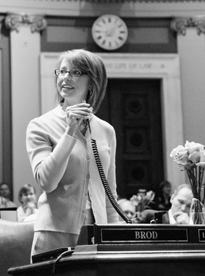 Rep. Laura Brod plans to stay involved in public policy, but not as a member of the House. (Photo by Kristin Schue)