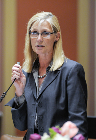 Rep. Denise Dittrich is leaving the House after eight years. She has been an advocate for education funding and small business. (Photo by Andrew VonBank)