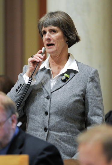 After 10 terms in the House, Rep. Mindy Greiling will not seek re-election. (Photo by Andrew VonBank)